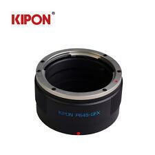 Kipon Adapter For Pentax 645 P645 Lens to FUJI Fujifilm G-Mount GFX 50S Camera