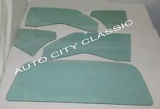 1970 - 1972 Oldsmobile Cutlass 442 2 Door Hardtop Glass Door Quarter Back Set GT