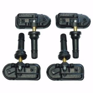 4Pcs Tire Pressure Sensor TPMS For 14-17 DODGE RAM 1500 2500 3500 OEM 68249197AA