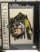 NEW 1991 Batman Lithoprints 11x14 DC Comics Batman Movie Michael Keaton Returns