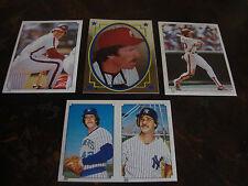 1984 Topps Baseball---Stickers---Lot Of 4---Rose, Schmidt, Mattingly