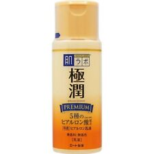Hadalabo Skin Research Moist Premium Hyaluronic Milky Lotion 140 ml from Japan