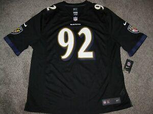 Haloti Ngata Baltimore Ravens Black 3XL Mens Nike Game Jersey