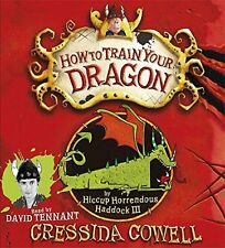 How to Train Your Dragon New Audio CD Book Cressida Cowell, David Tennant