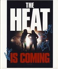 [1690] The HEAT Signed 10x8 Photo AFTAL