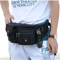 SwissGear Waterproof Waist Bag Pack Chest Shoulder Bag Men Women Sports Bag Pack