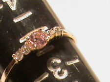 Beautiful 10k Gold Baby Ring with Stones