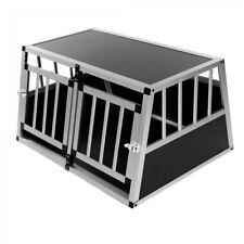 Aluminium Hundetransportbox Transportbox Alubox Reisebox Hundebox Kofferraum Box