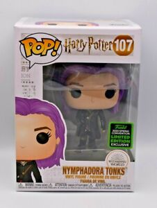 Funko Harry Potter Pop! Nymphadora Tonks (#107) 2020 Spring Convention Exclusive