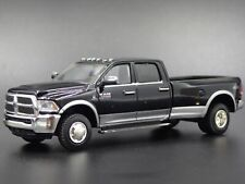 2018 18 RAM 3500 DUALLY HARVEST PICKUP TRUCK  HITCH 1/64 SCALE DIECAST MODEL CAR