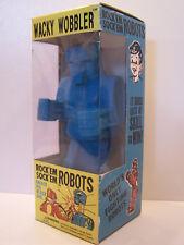 Wacky Wobbler 2001 Rock'Em Sock'Em Robots Blue Y0031