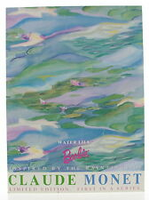 """New Mattel Claude Monet Series Water Lily 12"""" Barbie Doll"""