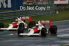 Ayrton Senna & Alain Prost McLaren MP4/5 Canadian Grand Prix 1989 Photograph