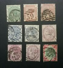 GB QV 1880's stamps