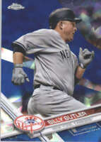 BILLY BUTLER 2017 TOPPS CHROME SAPPHIRE EDITION #118 ONLY 250 MADE