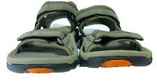 Teva Mens' Sandals Slingback Shoes Sz 10 Grayish Green Hiking Walking Outdoors