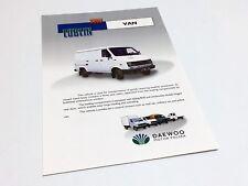 1996 Daewoo Polska Lublin Van 3302 Light Delivery Vehicles Brochure