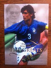 2011 Futera Unique Greats Soccer Card - Italy MALDINI Mint