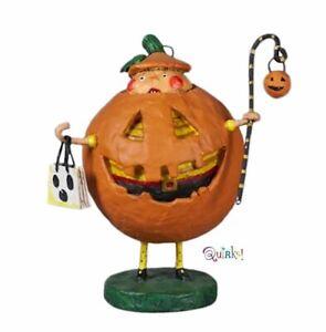 Jack Squash Halloween Figurine by Lori Mitchell