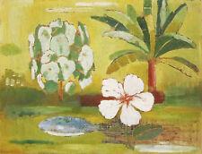 REX WOOD (1908-1970) Original Modern Oil Painting Still Life South Australia