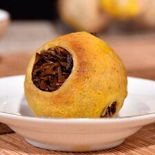 500g Organic LEMON BLACK TEA YUNNAN BLACK TEA compress into Dried LEMON Fruit