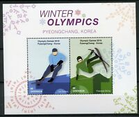 Grenada Stamps 2018 MNH Winter Olympics PyeongChang Ice Hockey Skiing 2v S/S