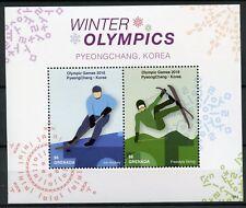 Grenada 2018 MNH Winter Olympics PyeongChang 2v S/S Ice Hockey Skiing Stamps