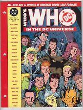 Who's Who in the DC Universe #9 Looseleaf, KEITH GIFFEN, ESTEBAN MAROTO, 1991 r