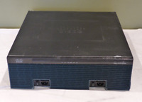 CISCO 3900 ISR ROUTER 3925 DUAL PSU & SPE100/K9 +VWIC3-2MFT- T1/E1