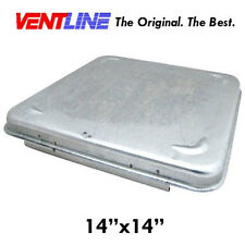 Ventline Replacement RV Trailer Vent and Roof Weather Cover (Metal)