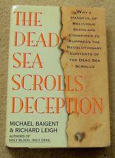 DEAD SEA SCROLLS Deception book HARDBACK history concealed information CAVES