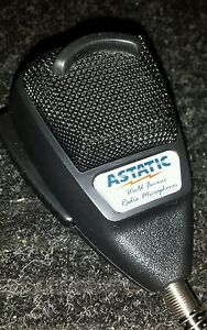 Astatic 636L Noise Cancelling 4-pin Microphone