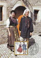 Ernstroda Volkstrachten Maxik. BRD 1993