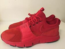 Nike Free Ace Red Leather Suede 749627600 Mens' Shoes Sneakers Size 13
