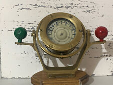 New ListingVintage Ships Nautical Maritime Nautik Brass Gimbal Compass