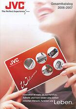 Catalogo JVC 2006 2007 totale catalogo Televisore Video DVD CAR HIFI HOME CINEMA