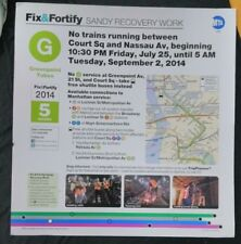 MTA SUBWAY MAP AD ALERT