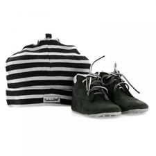 TIMBERLAND CRIB BOOTIE WITH HAT BLACK INFANTS UK 0.5-3.5