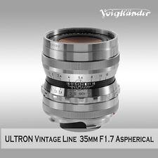 Voigtlander ULTRON 35mm F1.7 Vintage Line  Aspherical Sliver Version to VM mount
