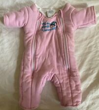 Baby Girl Merlin's Magic Sleepsuit Transition Swaddle Suit 3-6 m Pink