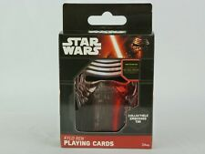 Star Wars Kylo Ren Playing Cards Collector Tin