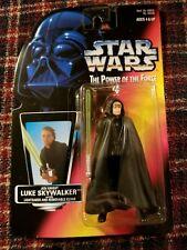 1996 Kenner Star Wars Power of the Force Jedi Knight Luke Skywalker Figure Nip