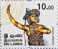 Sri Lankan 100 Stamps Collection only $100 with free shipping