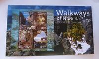 2017 NIUE WALKWAYS OF NIUE MINI SHEET FIRST DAY COVER