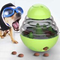 Pet Dog Cat Feeding Feeder Leakage Food Ball Dispenser Training Play Chew Toy