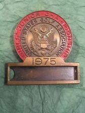 DEDHAM POLO CLUB MASSACHUSETTS 1975 USGA GOLF CHAMPIONSHIP CONTESTANT BADGE