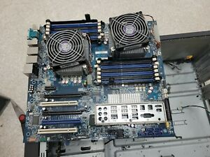 Lenovo 71Y8826 ThinkStation D20  Motherboard with intel Xeon E5620 ( ×2) CPU.()
