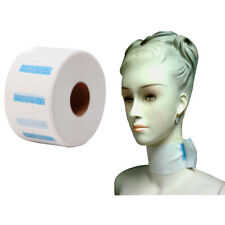 100pcs/Roll Disposable Neck Strips Paper Collar Barber Stretchy Hairdressing
