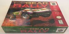 TOP GEAR RALLY Nintendo 64 N64 Game Still Sealed New!