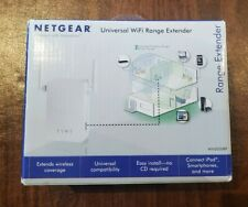 NETGEAR - Universal Wi-Fi Range Extender with Ethernet port - White
